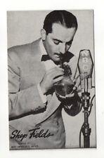 Shep Fields 1940's-50's Mutoscope Music Corp of America Arcade Card Postcard