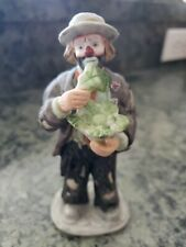 Emmett Kelly, Jr. - The Signature Collection - Eating Cabbage - Coa