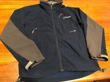 Cloudveil softshell jacket, zippered chest pocket, dark blue/grey, Men's Medium