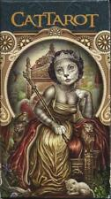 CATTAROT Deck Card Set cat oracle fortune telling pagan wicca cards