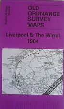 OLD ORDNANCE SURVEY MAP LIVERPOOL & THE WIRRAL  PLAN WIRRAL COLLIERY 1904 new
