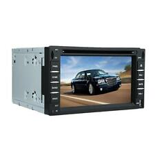 "6"" 2 Din Touchscreen Car DVD USB SD Player GPS Navigation Bluetooth Radio C0T9"