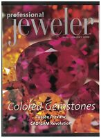 Professional Jeweler Magazine January 2000 Colored Gemstones Tucson Show