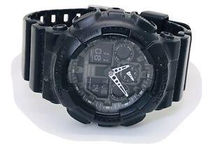 Casio G-Shock GA-100-1A1ER Alarm Chronograph Men's Watch - 200m-  (201E)