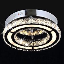 Funkelnd Kristall LED Deckenlampe Leuchte Lampe 220° Abstrahlwinkel 30cm 12 Watt
