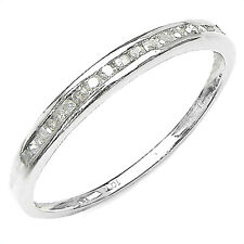 17 DIAMOND WHITE GOLD ETERNITY RING - GREAT VALUE BELOW SALE! + NO RES!
