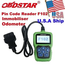 OBDSTAR F102 Automatic Pin Code Reader BCM with Immobiliser OBD2 Programmer Tool