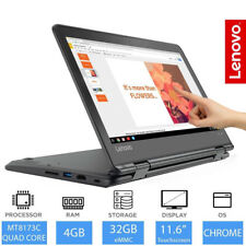 "Lenovo N23 Yoga Chromebook 11.6"" Pantalla Táctil 2 en 1 Laptop/Tablet 4 GB RAM, 32 GB"