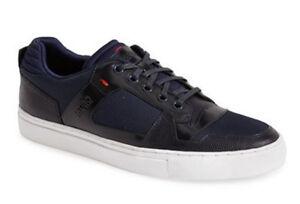Hugo Boss Men's Futero Fashion Sneakers Dark Blue Size 8