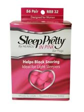 New Hearos Sleep Pretty in Pink Ear Plugs (NRR 32) (56 Pairs)
