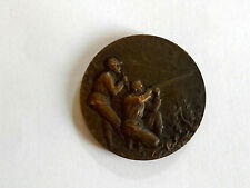 Médaille de tir Nancy 1906 signée CH.Marey concours national international