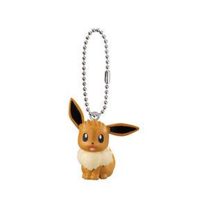 Pokemon Swing Mascot Anime Keychain SD Figure Everyone Story Movie~ Eevee @27125