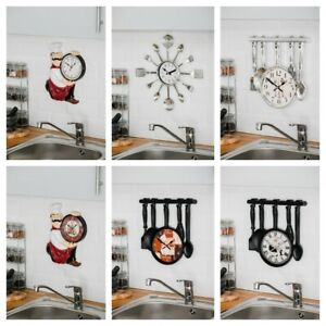 NEW LARGE VINTAGE WALL CLOCKS SHABBY HOME FRENCH FARMHOUSE BEACH HANGING CLASSIC