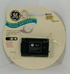 GE 3.6v, 700 mAh, Nickel Metal Hydride (NiMH) Phone Battery 86413 NOS
