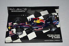 Minichamps F1 1/43 RED BULL RACING RENAULT SHOWCAR 2009 MARK WEBBER