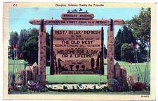 1945 Postcard Military Free Postage from WW2 Arizona Yuma Army Air Force Base
