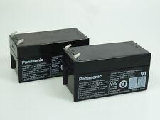 2 x Panasonic Bleiakku LC-R121R3PG  12V 1,3Ah  VdS, Faston 4,8