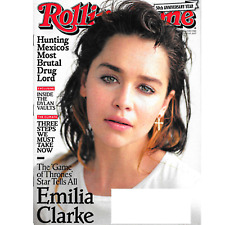 Rolling Stone July 13 - 27, 2017 EMILIA CLARKE GAME OF THRONES, Bob Dylan - NEW