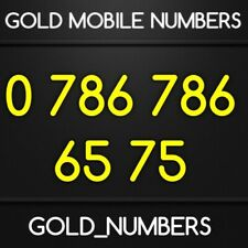 GOLD MOBILE 786 NUMBER MEMORABLE VIP EASY 786786 GOLDEN PHONE NUMBER 07867866575
