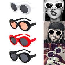 Fashion Kurt Cobain White Clout Goggles Sunglasses Rapper Shades Fancy Glasses
