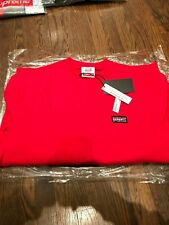 DS Supreme Honda Fox Racing Crewneck in Red Size XLarge IN HAND 100% Authentic!