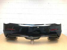 2015-2019 cadillac ats V coupe rear bumper w/ 4 sensors & 2 modules (black) #34