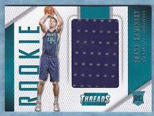 2015-16 Threads Basketball ~ Frank Kaminsky ~ Hornets ~  Rookie Threads  ~ #43