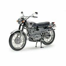 EBBRO Honda CL72 1962 Echelle 1:10 Moto Miniature - Argentéе/Noire