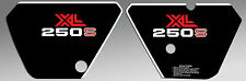 HONDA 1981 XL250 XL 250 SIDE COVER PLATE DECALS GRAPHICS
