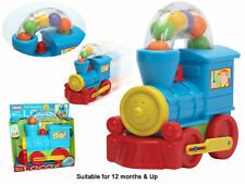 Ball Bowing LOCO Push Along Gift baby Toy Activity Toys !!!!! FUN TIME