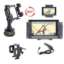 2 In 1 In- ar Holder For Garmin nüvi 2577, 3590LMT Sat Nav Plus Charger