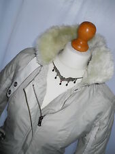 firetrap Rebelious Nature jacket -  size M - ( 10 - 12 ) - Ivory -  Good cond