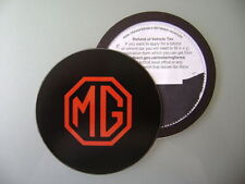 Magnetic Tax disc holder fits any mg mgf zt red a