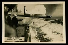 Navy Brirtish Kent CHATHAM Navy Week Firing a Torpedo RP PPC lovely close up