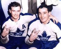Dick Duff, Frank Mahovlich Toronto Maple Leafs 8x10 Photo