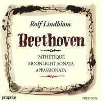 Ludwig Van Beethoven - Pathetique, Manskenssonaten, Appassionata (Lindblom) [CD]