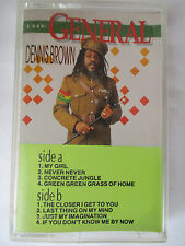 "DENNIS BROWN ""THE GENERAL"" CASSETTE TAPE - BRAND NEW"
