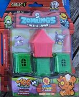 Zomlings in the town series 1 blister Ultra Rare Goody Norf Deep Jimbel Smash
