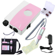 Portable Electric Nail Drill Machine Rechargeable Cordless Manicure Pedicure