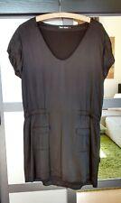 Filippa K Kleid aus Seide Seidenkleid, Gr. M, schwarz