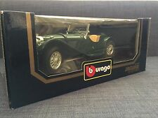 Bburago 1:18 JAGUAR SS100 1937 Die-Cast Mint in Boxed GREEN NEW 1983 NIB 3006