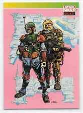 1993 Topps Star Wars Galaxy Series 1 Boba Fett Dengar Visions Base Card Nm #101