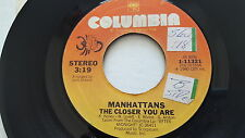 "MANHATTANS - Girl Of My Dream / The Closer You Are 1980 SOUL 7"" NM-"