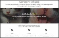 PET SUPPLIES Website Earn $362.16 A SALE FREE Domain FREE Hosting FREE Traffic