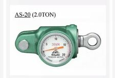 & NAGAKI AS-20 Analogue Tension Meter 20KN(2t) Dynamometer WT 1.2 Kg     11:17