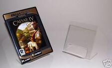 2 x ACRYLIC DVD CD PC GAME BROCHURE PLATE DISPLAY STAND