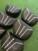 Inesis Mallet Putter Headcover (Black Golf Putter Cover Scotty Taylormade Ping)