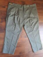 Pace Pants Khaki Olive Green Men's Size 54 x 32 NWT