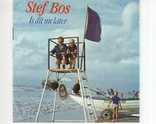 CD STEF BOS	is dit nu later	HOLLAND EX (A1675)