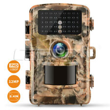1080P Wildkamera Jagd Kamera Video Überwachung HD 12MP CAMERA PIR 24 IR HUNTING